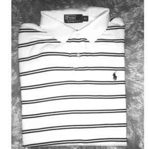 Striped polo by Ralph Lauren